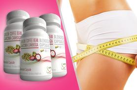 £18 instead of £131.97 (from Ultra Supplements) for a 3-month* supply of green coffee and Garcinia Cambogia capsules - save 86% + DELIVERY INCLUDED