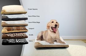 £9.99 instead of £39.99 (from Groundlevel.co.uk) for a large extra-soft fleecy pet bed - choose from 6 designs and save 75%