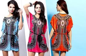 £8.99 instead of £45 (from Alvi's Fashion) for a paisley 'batwing' kaftan - choose from 3 colours and save 80%