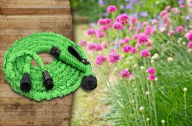 £8.99 for a 25ft flexi hose, £16.99 for a 50ft hose, £26.99 for a 75ft hose or £31.99 for a 100ft hose from Wowcher Direct - save up to 70%