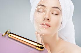 £8 instead of £49.99 (from SalonBoxed) for a 'Gold' energy beauty bar facial massager - save 84%