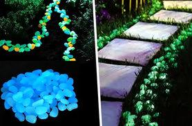 £6.99 (from Merchtopia) for 100 glow-in-the-dark pebbles, £12 for 200 or £14 for 300 - save up to 77%