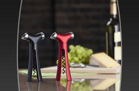 £8.99 instead of £16 (from Wowcher Direct) for a 4-in-1 Verseur bottle opener in red or black - save 44%