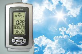 £6.99 for a wireless König thermo hygrometer weather station from Wowcher Direct!