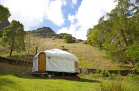 £129 instead of £360 (from Inside Out Camping, Lake District) for a 4-night glamping break in a yurt for up to 4 - save 64%