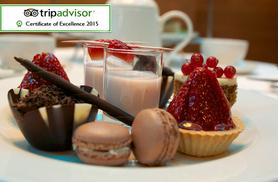 £19 for afternoon tea for 2 including sandwiches, scones and more, or £22 with a glass of Prosecco each at Thistle Euston - save up to 58%