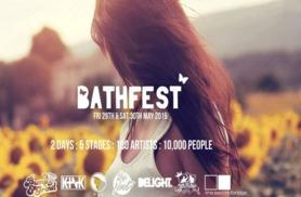 £39 instead of £76.89 for a final weekend VIP ticket to Bathfest 2015 at Bath Racecourse from 29th and 30th May with Unilife Events - save 49%