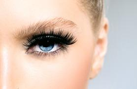 £19 for a full set of DVA Quik Lash individual eyelashes, £34 to include brow shape & tint at DVA Beautique, Westfield Stratford or Shepherd's Bush - save up to 52%