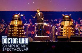 £18.75 instead of up to £37.50 for a ticket to the Dr Who Symphonic Spectacular featuring the BBC National Orchestra & Chorus of Wales at 6 UK locations - save up to 50%