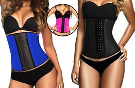 £19.99 instead of £65 (from Boni Caro) for a latex 'waist trainer' - choose pink, blue or black & save 69%
