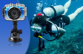 £29.99 instead of £69.99 (from Gizmo Gadgets) for an action sports waterproof digital camera and video recorder incuding accessories - save 57%