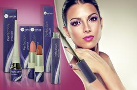 £10 instead of £36.26 (from Xenca) for a three-piece essential makeup bundle - choose from two organic lipsticks & save 72%