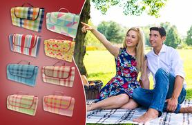 £8 instead of £29.99 (from Groundlevel.co.uk) for a large fleece picnic blanket, £10 for extra-large - choose from eight designs & save up to 73%