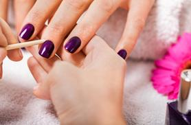 £9 instead of £25 for a gel manicure, £16 including a pedicure at The West End Nail Room, Kent - save up to 64%
