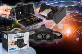 £19.99 instead of £29.99 for an Immerse 3D virtual reality headset from Wowcher Direct - get an un-reality check & save 33%