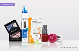 £9.99 (from JustShe.co.uk) for a five-piece one stop beauty box set including L'Oréal, Rimmel and OPI products and more, £15.99 for an eight-piece set - save up to 78%