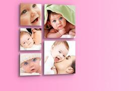 £14.99 instead of £49.99 (from 1clickprint) for a set of five floating photo prints - save a picture-perfect 70%