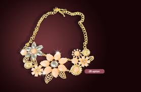 From £7 instead of £49.99 (from Marcus Emporium) for a statement necklace made with Swarovski Elements - choose from 3 designs and save up to 86%