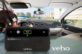 £19.99 instead of £49.95 for a Veho in-car Bluetooth hands-free kit from Wowcher Direct - drive safely and save 60%