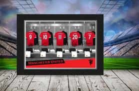 £7.99 (from PFG) for a personalised football dressing room or manager photo in a presentation folder, £15 for 2, £22.99 for 3 - save up to 47%
