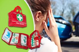 £8.99 instead of £29.99 (from Treasure Chest Innovations) for a 68-piece first aid kit perfect for the road, home or office - save 70%