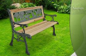 £19.99 for an animal pattern bench for children, £29.99 for a rose or diamond pattern bench for adults from Wowcher Direct