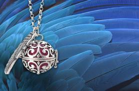 £9 instead of £69.99 (from Wowcher Direct) for a guardian angel soundball necklace - save 87%