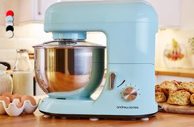 £64.99 (from Andrew James) for a 5.2 litre food mixer with splash guard