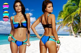 £9.99 instead of £34.99 (from Romatco) for a push-up zip detail bikini in a choice of 4 styles - save 71%