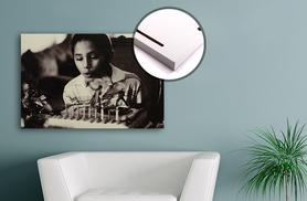 From £8.99 (from Your Perfect Canvas) for a personalised wooden canvas print - choose from four sizes and save up to 78%