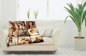 £14.99 instead of £29.99 (from Great Photo Gifts) for a small photo blanket, £18.99 for a square blanket or £21.99 for a medium - save up to 50%