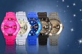 £7.99 instead of £69.99 (from Fakurma) for a soft silicone unisex sports watch - choose from 13 colours & save 89%