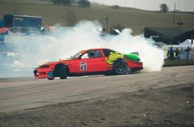 £39 (from Learn2Drift) for a one-hour intro to car drifting experience, £69 for a four-hour experience