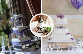 £250 instead of up to £475 for a four-tier luxury bespoke wedding cake from Wedding Cakes Leeds - save up to 47%