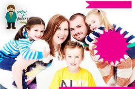 """£9 instead of £349 for a Father's Day-inspired photoshoot for up to 12 people and six 7"""" x 5"""" prints with The Model Experience, Leeds - save 97%"""