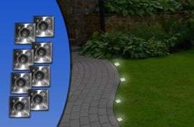 £7.99 instead of £20 (from Urshu) for two garden solar ground lights, or £14.99 for eight - save up to 60%