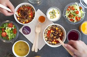 £5 instead of up to £8.50 for Egyptian street food for one person including a drink, or £9 for two people at Koshari Street, Covent Garden - save up to 41%