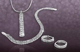 £9 instead of £54.95 (from Simply 18k) for an Allegra tri set made with Swarovski elements - sparkle & save 84%
