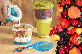 £5 instead of £19.99 (from London ExchainStore) for a Cereal to Go container - save 75%
