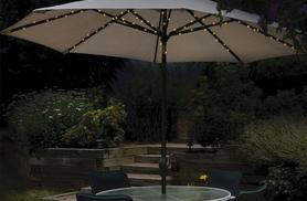 £9.99 instead of £21 (from Zoozio) for a set of 72 solar powered LED lights designed for parasols - light up your life and save 52%