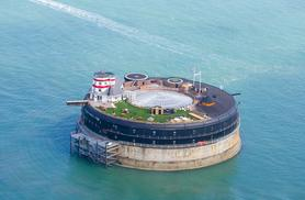 From £399 (from AmaZing Venues) for an overnight stay for two including a four-course banquet, bubbly and breakfast on No Man's Fort, The Solent - save up to 34%