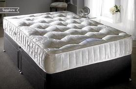 From £199 for a cashmere pocket sprung sapphire mattress - save up to 75% + DELIVERY INCLUDED!