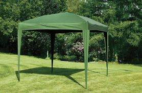 £49.99 instead of £77.99 for a 3x3 metre pop-up gazebo available in green and brown from Wowcher Direct - save 36%