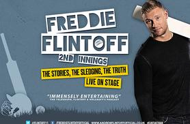 £15 (instead of £25) for a ticket to Freddie Flintoff's 2nd Innings Tour on July 7th at Preston Guildhall - save 40%