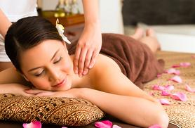 £29 for a spa day for one person including a back massage and glass of bubbly, or £56 for two people at The Retreat Spa, Leek - save up to 61%