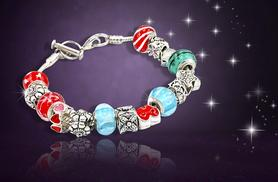 £9 instead of £89 (from Bijou Amour) for a glass bead and charm bracelet - save 90%