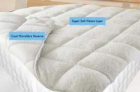 From £14.99 for a luxury all-seasons reversible mattress enhancer in double, king or super king size - save up to 61%