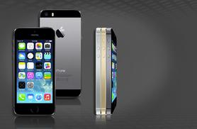 £9.99 instead of £86.99 (from The Smartphone Company) for an iPhone 5S 16GB when you sign up to a 24-month 4G contract - save 89% + DELIVERY INCLUDED!