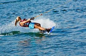 £23 for a 30-minute wakeboarding experience for two inc. hot drink and all equipment with Wakeplus, Maidenhead - save 56%
