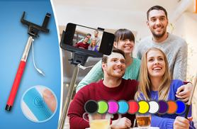 £8.99 instead of £39.99 (from Planet of Accessories) for an all-in-one selfie stick with cable connection - choose from 10 colours & save 78%